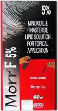 Morr F 5% Minoxidil Intas Hair Regrowth 60 ML Each FDA Approved IN Spray Form