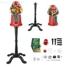Great Northern 6260 Gumball Machine, Real Glass Vintage Candy Machine, Red - New