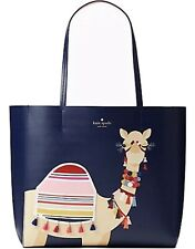 💙 Kate Spade Spice Things Up Camel 🐪 Luvvie Tote Bag Large NWT LAST 1!