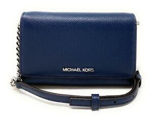 Michael Kors Jet Set Travel Medium Multifunction Phone Crossbody Bag Clutch
