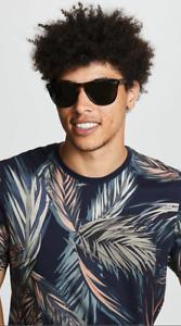 OLIVER PEOPLES DADDY B 55mm POLARIZED Sunglasses Black/G15 Polar CLASSIC