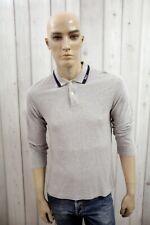 RALPH LAUREN Uomo T-Shirt Maglia Maglietta Casual Polo Manica Lunga Taglia S