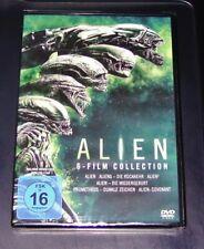 ALIEN 6 FILM COLLECTION INKLUSIVE PROMETHEUS / ALIEN COVENANT DVD NEU & OVP