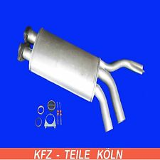 BMW E34 525i Exhaust System Middle Silencer + Assembly Kit Exhaust
