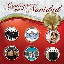 Contigo En Navidad (CD) Bukis Mazz Liberacion Toppaz Bryndis Spanish