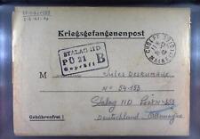 Camp Stalag IID Stargard 1940 POW Prisoner of War Kriegsgefangenenpost L21a