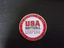 2017 USA SOFTBALL OF IOWA UMPIRE FLIPPING COIN (RED)