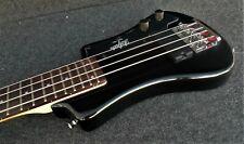 HOFNER HCT-SHB-BK-0 SHORTY contemporary TRAVEL Elect BASS Guitar BLACK & Gig Bag