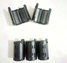 10pcs 11mm Black TDK Clip-on RFI EMI Filter Snap Around Ferrite  New