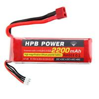 Helicopter Battery HPB 11.1V 2200mAh 25C MAX 35C 3S T Plug Li-po Battery R4H2