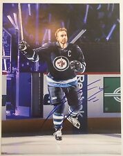 ANDREW LADD SIGNED 11X14 PHOTO WINNIPEG JETS COA