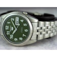 Seiko 5 Automatic Mens Watch 21 Jewels See Through Back SNK379K1 UK Seller