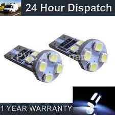 2x W5w T10 501 Canbus Error Free Blanca 8 Led matrícula bombillas np101601