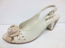 Women's Casual Cuban Slingbacks 100% Leather Sandals & Beach Shoes
