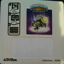 Lightcore Pop Fizz Skylanders Giants Sticker/Code Only!