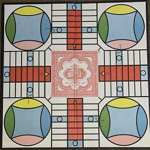 Game Parts Pieces Parcheesi Selchow & Righter Gameboard