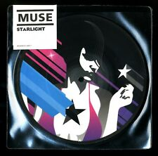 "VINYLE 45 TOURS ★ MUSE - STARLIGHT ★ 7"" PICTURE DISC RECORDS LIMITED"