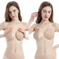 Self-Adhesive Push Stick Up Silicone Backless Magic Gel Strapless Invisible Bra
