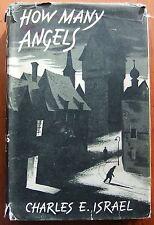 How Many Angels Charles E Israel DJ HB 1st 1956 war story book