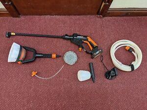 Worx Hydroshot Battery Pressure Washer Plus Accessories