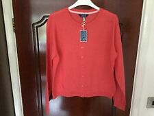 JOULES RED SKYE LONG SLEEVE CARDIGAN. SIZE 20. NEW WITH TAG