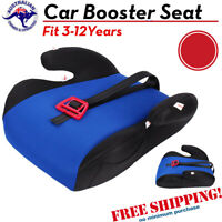 NEW Car Booster Seat Chair Cushion Pad For Toddler Children Kids Sturdy 3-12 Yrs
