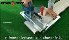 Trenn-Biber 012 + 2 Stichsägeblätter Sägetisch Laminatschneider Holzpaneele
