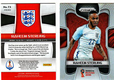 RAHEEM STERLING 2018 Panini PRIZM WORLD CUP REFRACTOR Soccer # 73 - England $$$