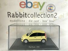 "DIE CAST "" FIAT PANDA - 2004 "" + TECA RIGIDA BOX 2 SCALA 1/43"