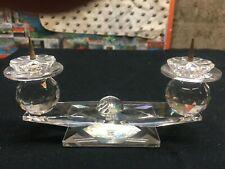 Swarovski Crystal 2 Light Pin Style Candleholder 7600Nr 118*Rare * *No Box*
