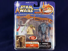 Star Wars AOTC Yoda Deluxe with Super Battle Droid Saga Attack of the Clones