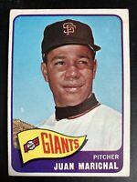 1965 Topps #50 - JUAN MARICHAL - HOF - San Fransisco Giants