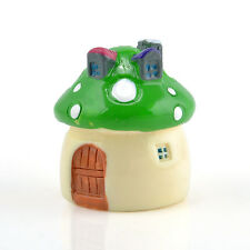 Cute Mushroom Miniature Garden Ornament DIY Craft Pot Fairy Dollhouse Decor