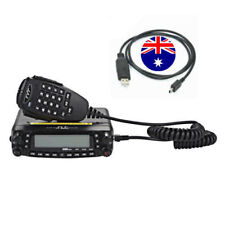 TYT TH-9800 50W 809CH Quad Band Dual Display Repeater Car Mobile Radio + Cable