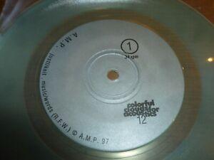 "AMP - Studio EP - 1997 US 2-track 7"" EP pressed on CLEAR TRANSLUCENT VINYL"