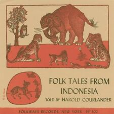 Folk Tales From Indonesia - Harold Courlander (2009, CD NIEUW) CD-R