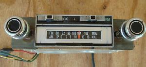 Vintage Arthur Fulmer AM FM 8 Track Tape Player In Dash Model