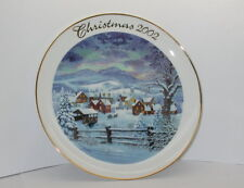 Home For the Holidays 2002 Christmas Collectors Plate