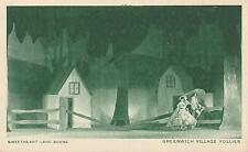 "Reginald Marsh ""GREENWICH VILLAGE FOLLIES"" Sweetheart Lane / Erte 1922 Postcard"