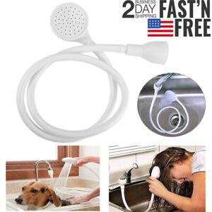 3.7FT Shampoo Sprayer Sink Spray Hose Kitchen Faucet Salon Multipurpose Head