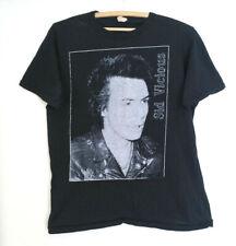 Genuine 1980s Vintage Sid Vicious T Shirt Black Sz. Xl Read Ad Punk Sex Pistols