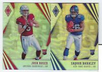 2018 Panini Phoenix Football ROOKIES #101-200 Complete Your Set YOU PICK!