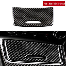 For Mercedes Benz CLA GLA A 2013-2018 Carbon Fiber Cigarette Lighter Panel Trim