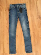 BNWT Ladies Blue ASOS Jeans Size 26 Skinny High Waist 6-8 Faded