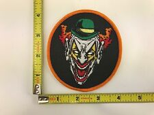 Scary Clown Patch iron-on sew-on new Joker Jester
