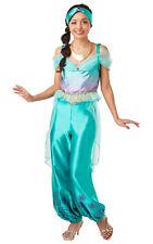 Ladies Disney JASMINE Princess Official Fancy Dress Costume Aladdin Panto Book