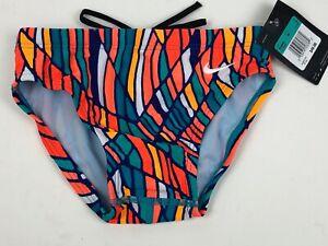 Nike Boys Performance Swim Briefs Prism Swimsuit NWT