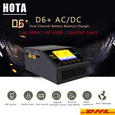 HOTA D6+ AC/DC Dual Ladegerät LiHv/LiPo/LiFe/Lilon & /Nicd/NiMH RC Akku Charger