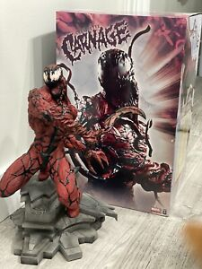 SIDESHOW CARNAGE COMIQUETTE STATUE RARE! Number 132 out of 1000, Read Details