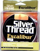 Silver Thread Excalibur Fishing Line 10 to 30 LB Test - Select Color, Size & Qty